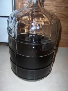 1.5 or 2 gallons of chaga/sumac tea