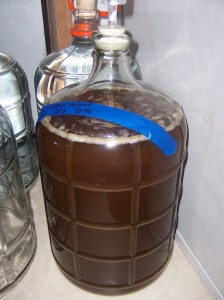 Star Thistle Mead. 15% Initial alcohol potential.