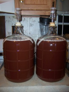 6 gallons of blackberry cyser
